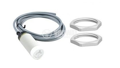 Capacitive Sensor, CD30P32L, 10-30 VDC, PNP, NO + NC, M30x80mm, 15mm, non-shielded - 1