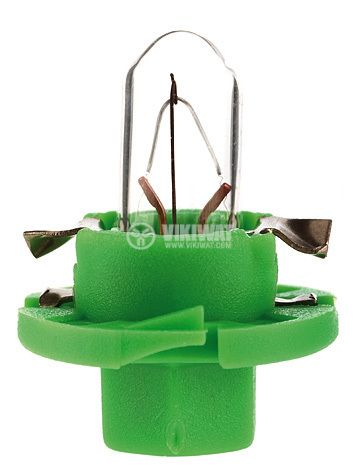 Auto filament lamp, BX8.4d, 12V, 1.3W - 1
