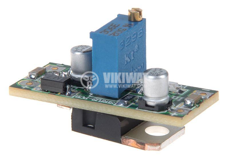 Voltage regulator LM317 Reg. rev.2 5/36V-1.3/30V - 1