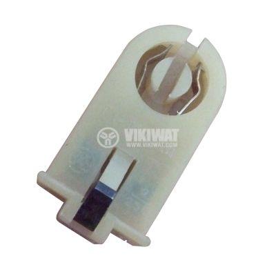 Цокъл за луминесцентна лампа T8, G13, с щифт