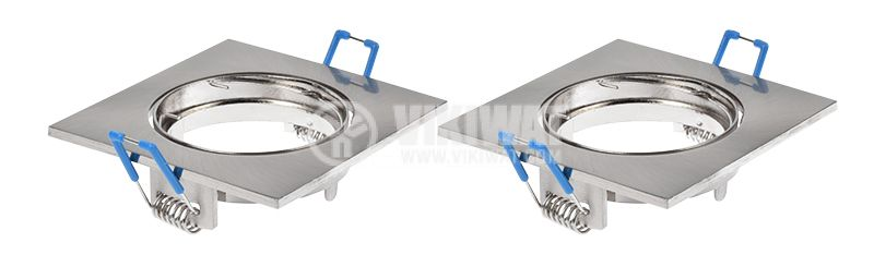 MITTO-S Fittings for Halogen and LED Lights, Nickel, GU5.3 / GU10, BH03-02044 - 6