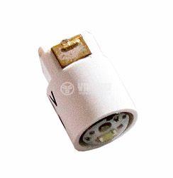 Автомобилна LED лампа, Ф7, 24 VDC, LED, бяла - 1