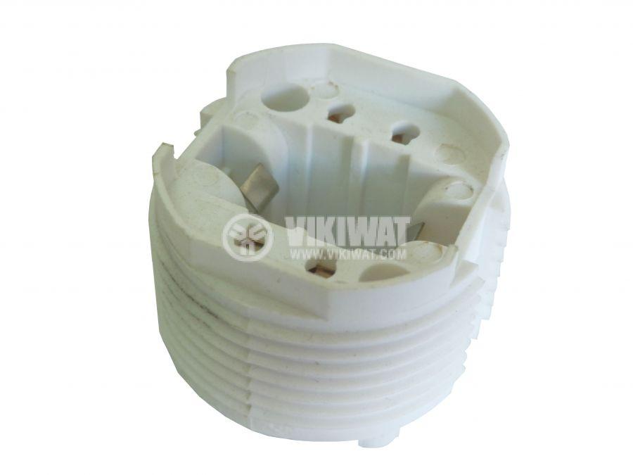Цокъл за PL лампа, 4пина, G24q, GX24q - 1