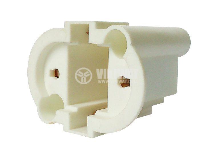 Цокъл за PL лампа, 2пина, G23 - 2