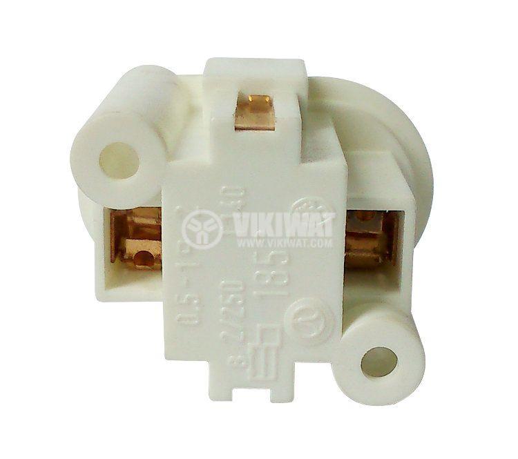 Цокъл за PL лампа, 2пина, G23 - 3
