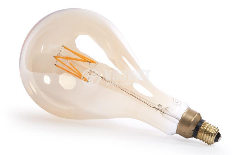 LED Lamp BB60-00620, E27, 6W, 2200K, 550LM, warm white - 4