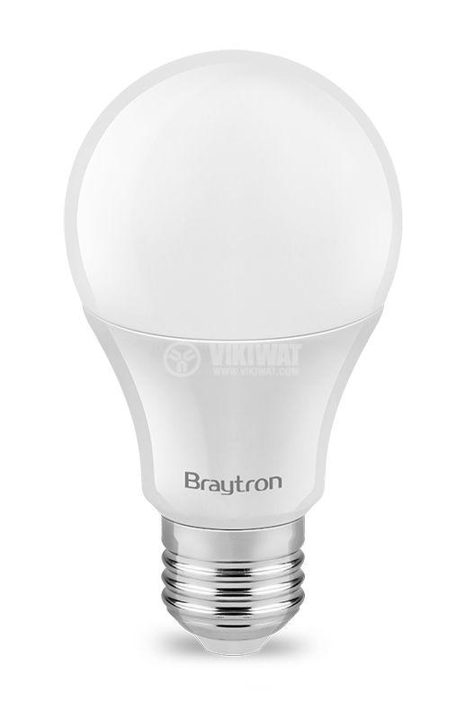 LED лампа 8W, E27, 220VAC, 4200K, неутрално бяла, BA13-00821 - 2