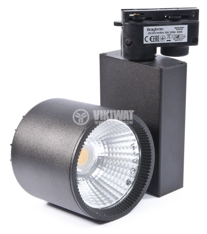 LED COB Tracklight BD30-00301, 30W, 3000K, 2600LM, warm white - 1