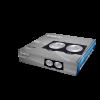 Арматура за вграждане, SPOTTI-S, за халогенни и LED луни, черна/сребърна, GU5.3/GU10, двойна, BH03-00121 - 6