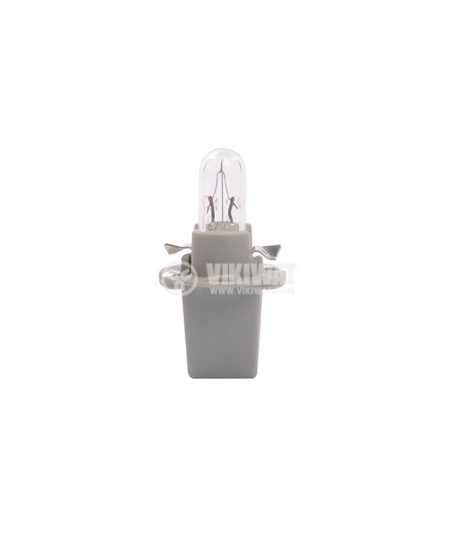Dashboard car bulb, B8.7D, 1.2W, 12VDC