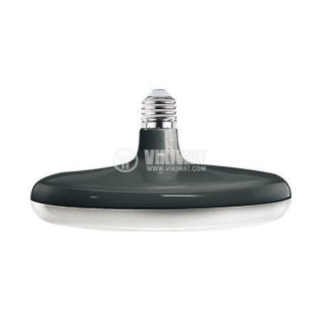 LED bulb 32W, E27, 2700lm, 3000K, warm white, BB01-13220, black body - 1