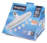 LED лампа BB01-13220, E27, 32W, 2500LM, 3000K, топло бяла - 4