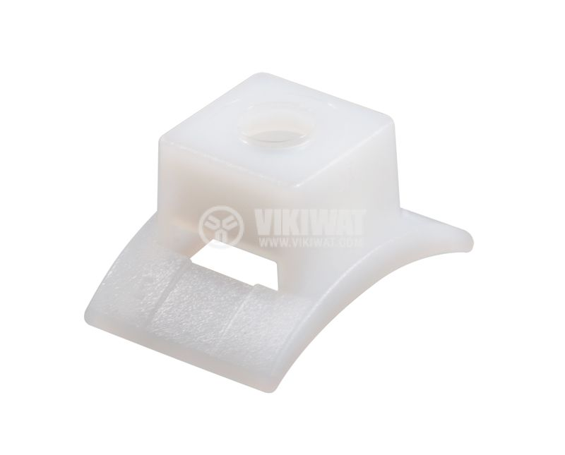 Holder for cable tie LKC-PA66-NA, 17x25mm, white - 3