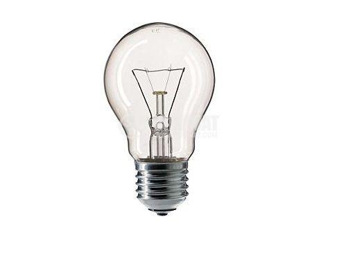 Обикновена лампа, 24 VAC, E27, 40 W