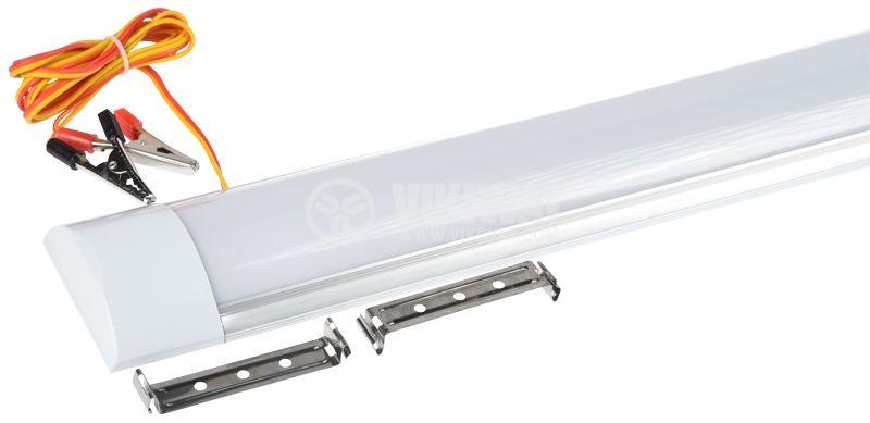 LED тяло 12W, 12VDC, студенобял, IP20, 697x25mm, HX-872 - 3