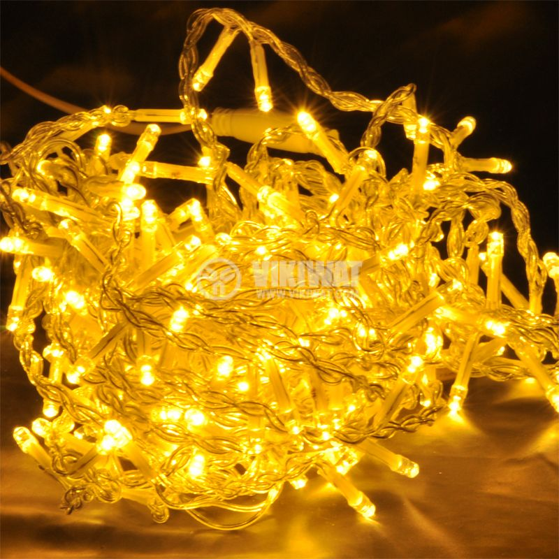 LED christmas lights type pendants BL437, 2.4m, 15W, warm white, IP44, 192 LEDs - 1