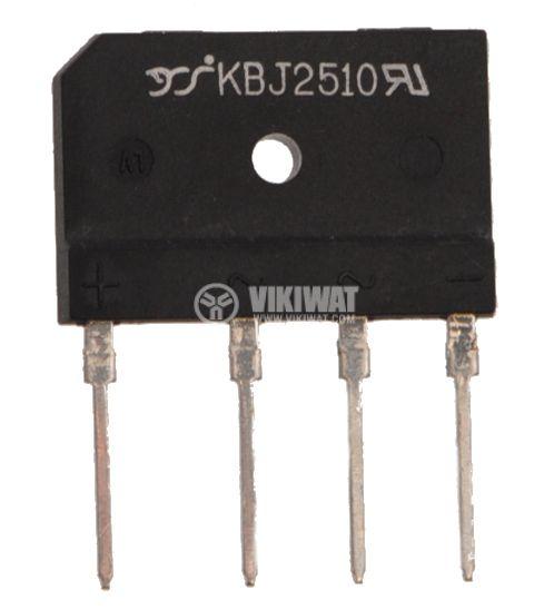 Грец схема 25A/1000V, KBJ2510