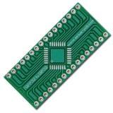 Circuit board TQFP32 to DIP32