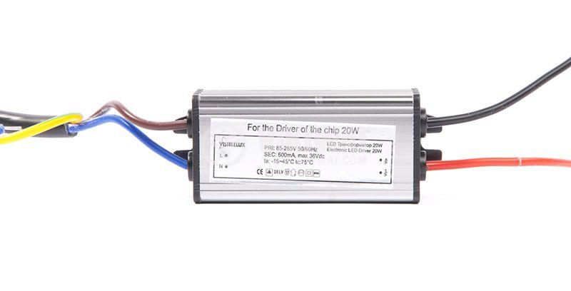 LED захранващ блок, 20W, 36VDC, 600mA - 1