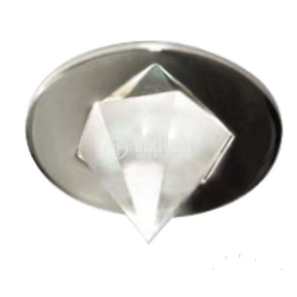 Halogen Spot Light Piramide, NDL710-E, silver grey