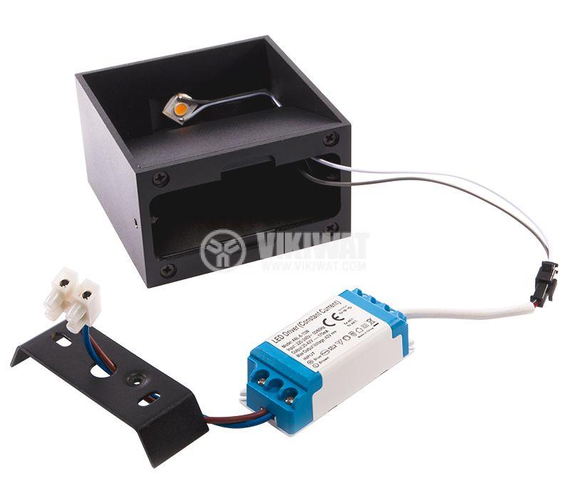 LED lighting fixture BH07-03101, 8W, 220VAC, 3000K, warm white - 4