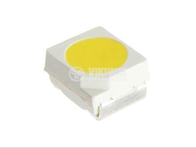 LED диод SMD3528, син, 470-472nm, 250-300mcd