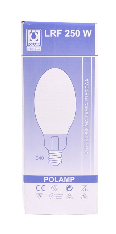 Живачна лампа, 250W, E40, 220VAC - 3