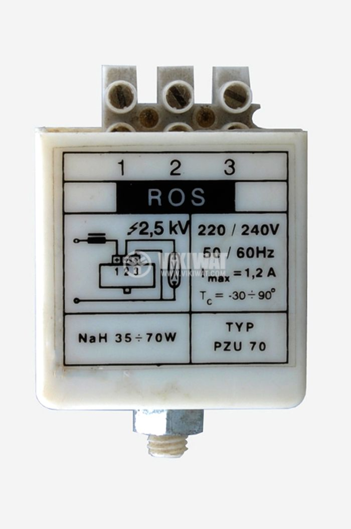 Запалващо устройство за натриеви лампи 35-70W - 1