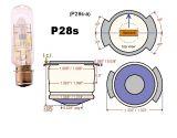 Специална лампа, 120V, 750W, P28S, за прожектори
