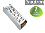 LED захранване 12VDC, 200W, 220VAC, 16.5A, IP20, BY02-02000 Braytron