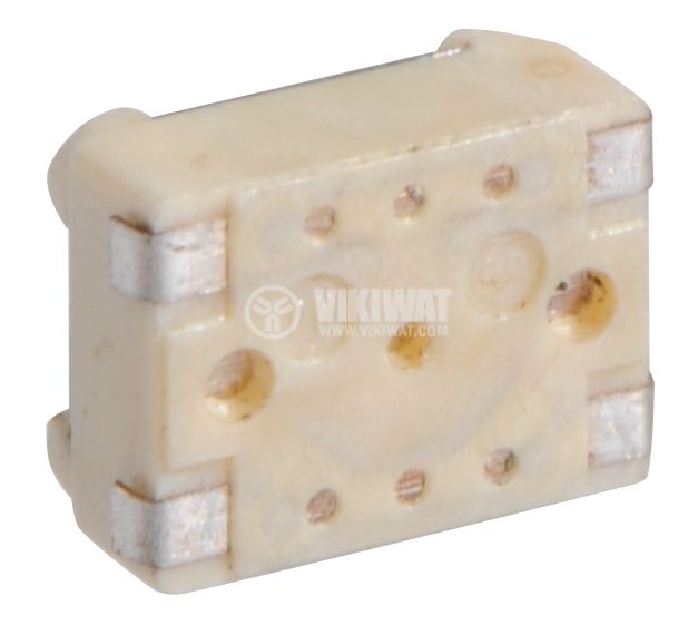 Irretentive Micro Switch NO, SPST, OFF-(ON), SMD - 3