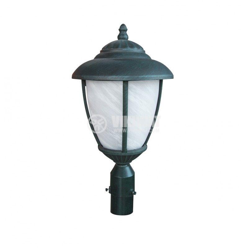 Garden lighting fixture Pacific CB 02, E27, standing copper - 1