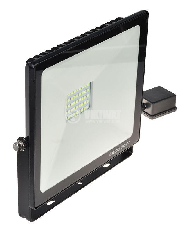 LED floodlight 30W, 220VAC, 2100lm, green, IP65, waterproof - 4