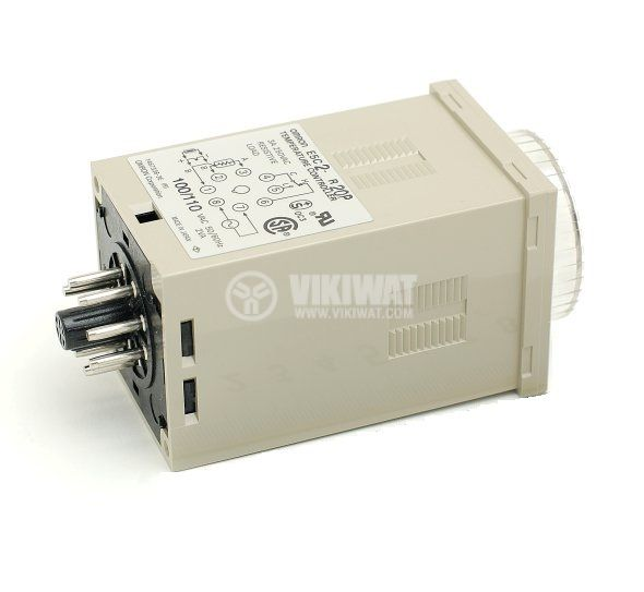 Temperature Regulator, E5C2, 220 VAC, 0 ° C to 400 ° C, type K with relay output - 2