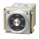 Temperature Regulator, E5C2, 220 VAC, 0 ° C to 400 ° C, for thermistor type Pt100, relay output