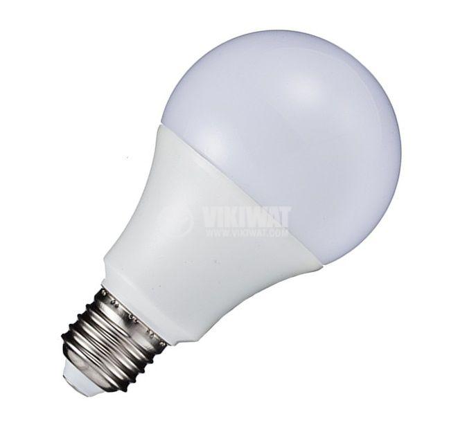 LED лампа BA18-1520, 15W, 220-240VAC, E27, топло бяла - 4