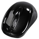 Wireless Optical mouse AM-7300 USB, with 3 buttons, black
