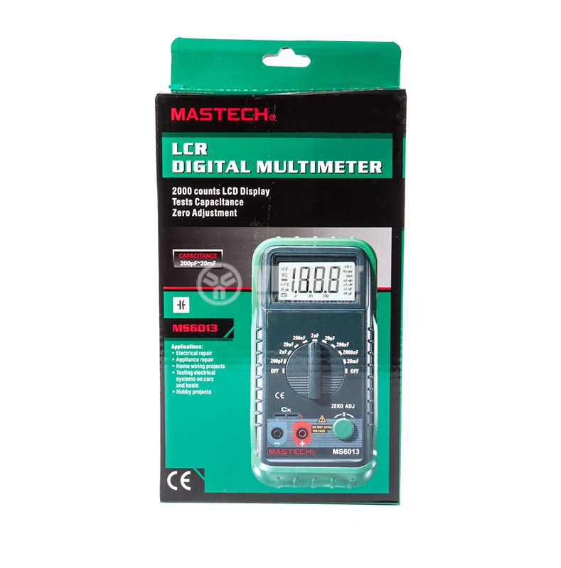 Digital Multimeter MS6013, capacity meter - 6