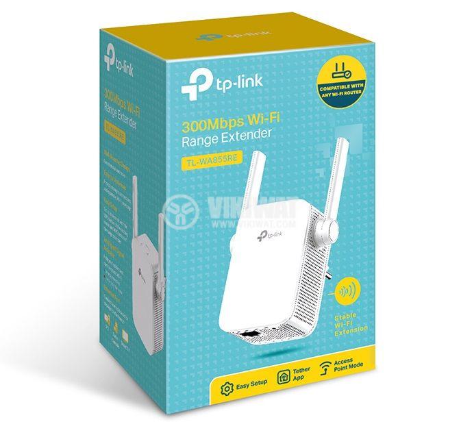 Wifi усилвател TP-Link TL-WA855RE V5  - 3
