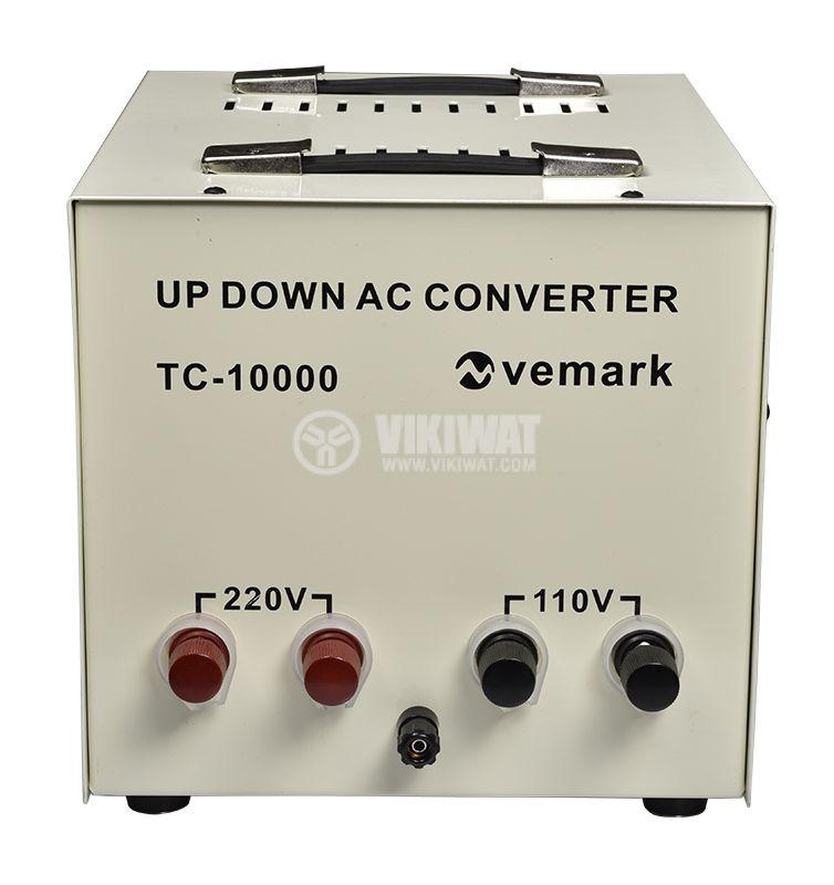 Converter TC-10000, 10000W, 220VAC-110VAC