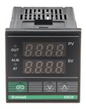 Temperature controller, E5CS, 220 VAC, 0 ° C to 400 ° C, thermistor type Pt100, relay output