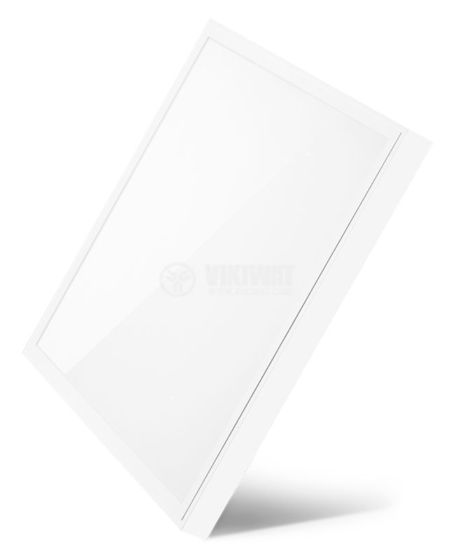 LED panel 50W, 220VAC, 3400lm 3000K, warm white, 600x600mm, IP20, non-waterproof, surface, BN06-6600 - 3