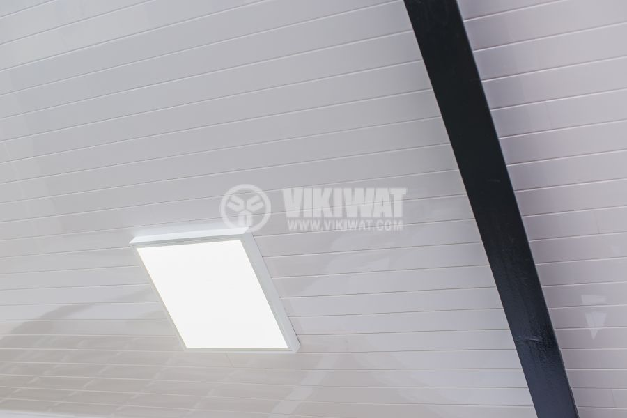 LED panel 50W, 220VAC, 3400lm 3000K, warm white, 600x600mm, IP20, non-waterproof, surface, BN06-6600 - 4