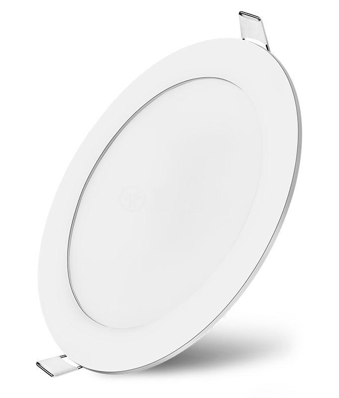 LED панел за вграждане 3W, кръг, 220VAC, 4200К, неутрално бял, ф85mm, IP20, невлагозащитен, BP01-30310 - 6