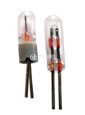 Свръхминиатюрна лампа, 1.5 V, 80 mA, BI-PIN