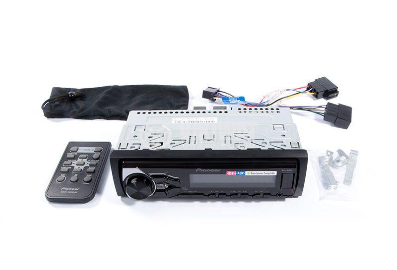 Radio MP3 player car, PIONEER MVH-181UB, 4X50W, USB, Remote control - 5