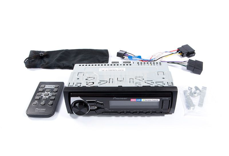 Радио MP3 плеър за автомобил, PIONEER MVH-181UB, 4X50W, USB и дистанционно - 5