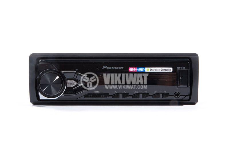 Radio MP3 player car, PIONEER MVH-181UB, 4X50W, USB, Remote control - 12