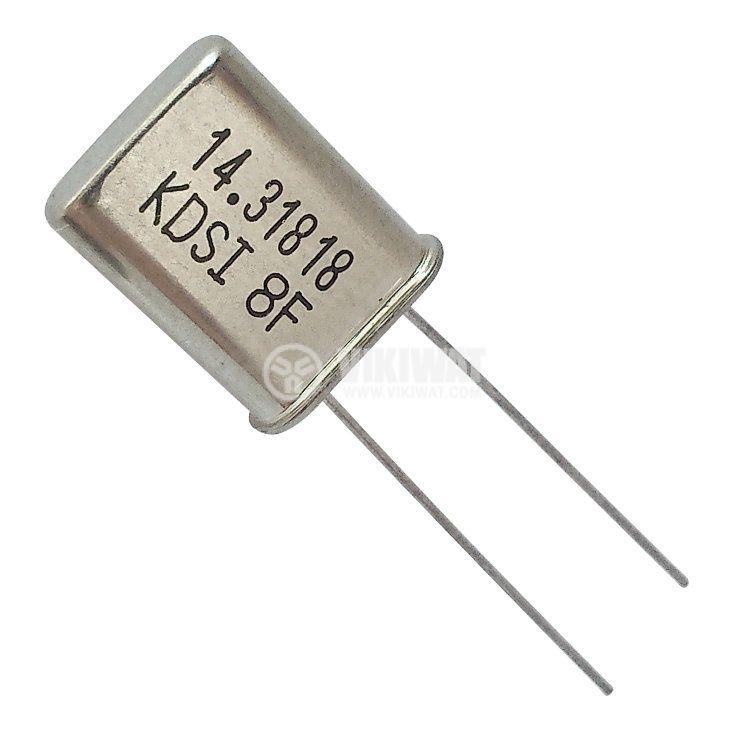Кварцов резонатор metal 14.3181MHz