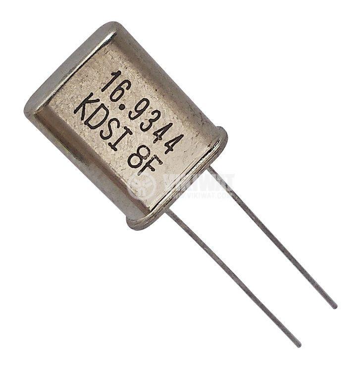 Кварцов резонатор METAL 16.9344MHz